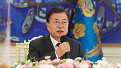 Pres. Moon addresses concerns over COVID-19 vaccine supply