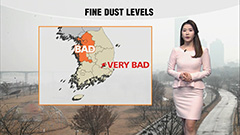 High fine dust across central regions...cold wave during daytime