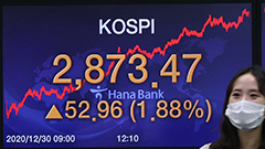 Seoul stocks close final session of 2020 at all-time high