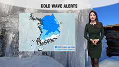 Cold wave warning issued for the capital...heavy snow across most regions tonight
