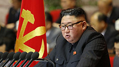 Kim Jong-un vows to promote pe