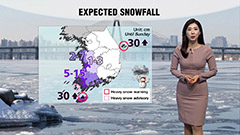 Peak of winter chill across country with snow in some parts