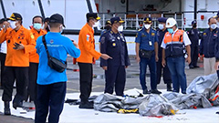 Indonesian plane carrying 62 passengers crashes into sea after take-off