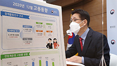 No. of people employed in S. Korea fell in 2020 by largest amount in 22 years