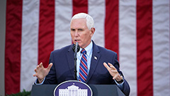 Pence rejects invoking 25th Am