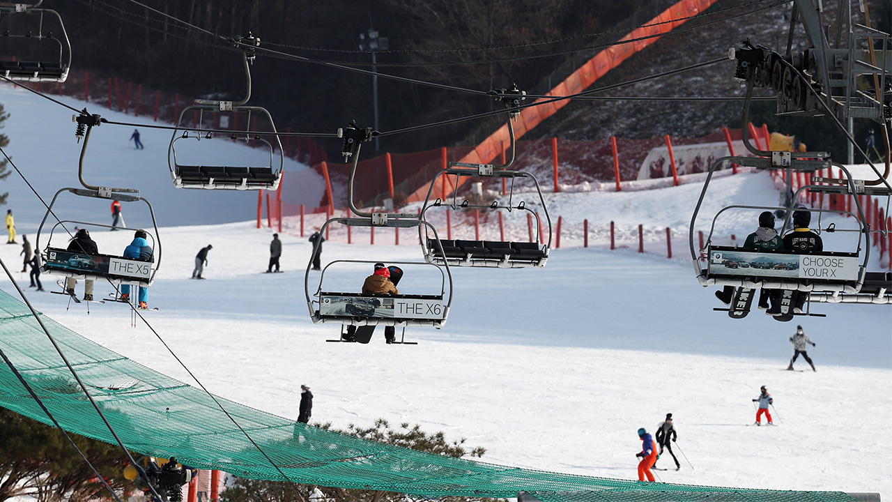 S. Korean ski resorts reopen with strict COVID-19 prevention measures