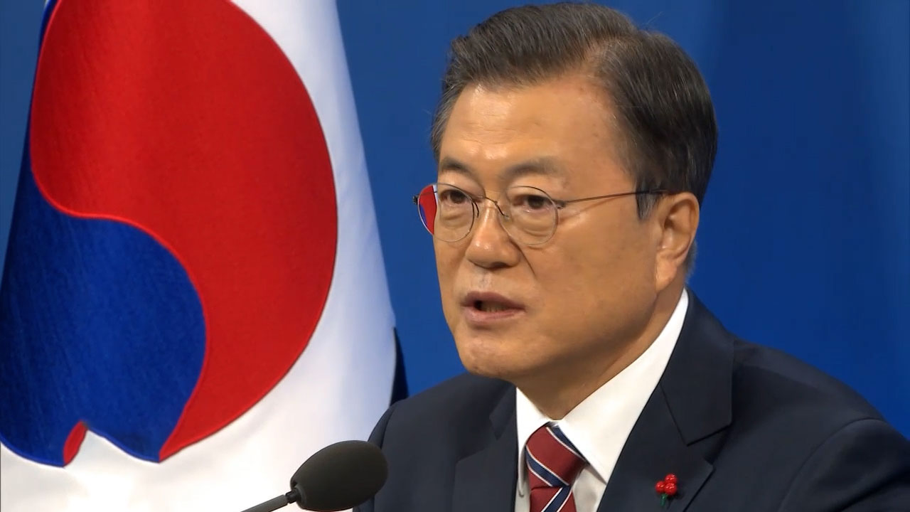 Moon calls for dialogue between N. Korea, U.S.; vows efforts from Seoul