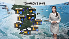 Snow eased in most regions and frigid spells tomorrow...watch out for icy roads tonight