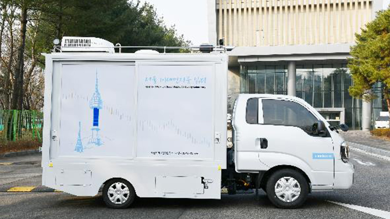 'Mobile Lab' trucks deployed to measure Seoul's fine dust pollution
