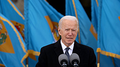 Joe Biden arrives in Washington for inauguration; 100-day agenda takes shape