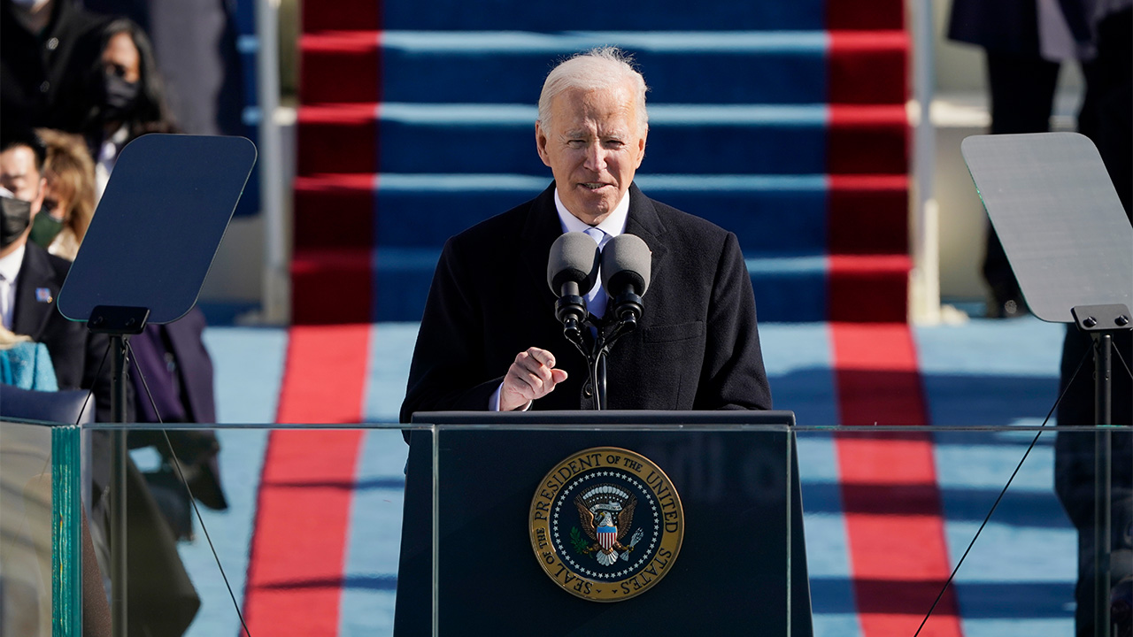 U.S. President Joe Biden, VP Harris sworn into office in Washington