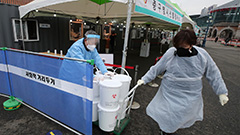 S. Korea reports 346 new COVID-19 cases on Friday
