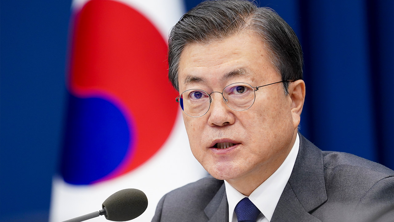 President Moon to give keynote speech at virtual World Economic Forum on Thursday