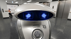 Hospital robot in Germany cheers up patients with its singing and joking