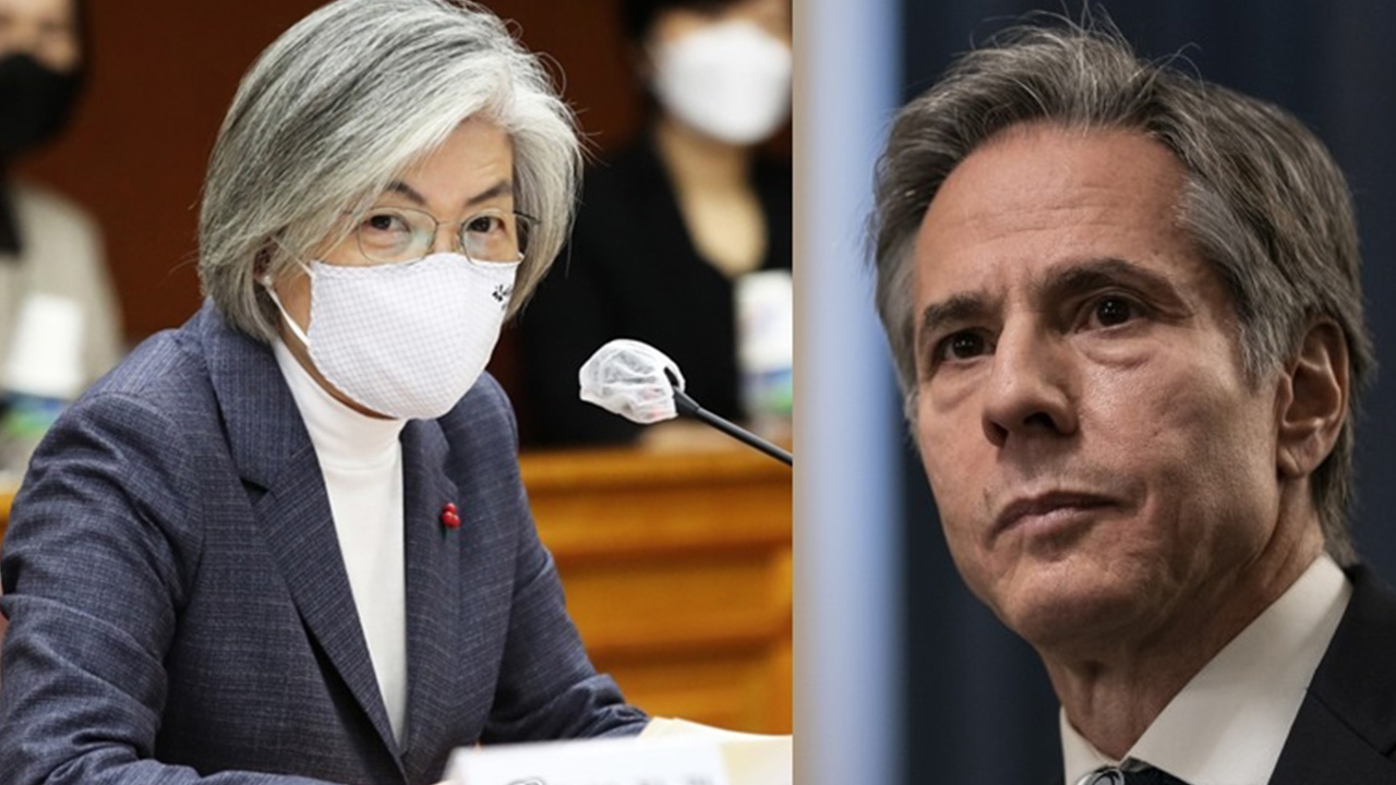 Kang, Blinken agree in phone talks that N. Korea nuclear issue is urgent matter to resolve