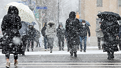 Extreme winter weather in S. Korea's central regions