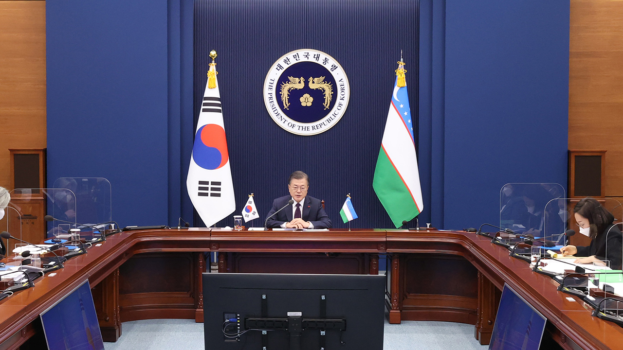 S. Korea, Uzbekistan agree to start talks on bilateral free trade deal