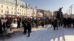 Over 5,000 detained in Russia for protests backing Navalny