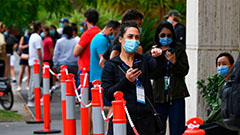 Italy reports over 90,000 accumulated COVID-19 death toll since pandemic first emerged 1 year ago