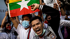 Tens of thousands of citizens protest against military coup in Myanmar