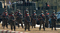 Myanmar military coup gone more violent, as forces open fire on people