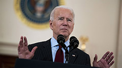 Pres. Biden addresses nation as U.S. passes 500,000 COVID-19 deaths