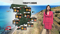 Spring cold snap eases this afternoon under lots of sunshine with good air quality