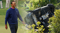 Tiger Woods awake and recovering from surgery following car crash