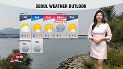 Rain in south and Jeju, milder