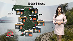 Rain in south and on Jeju, milder than seasonal norms