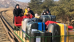Russian diplomat and family leaves N. Korea by rail trolley due to COVID-19 lockdown