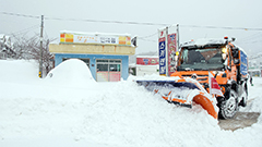 Blizzards in Gangwon-do Province