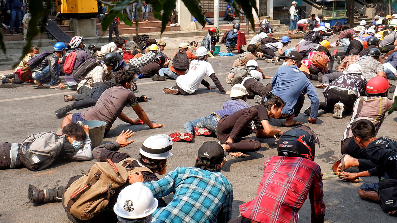 Myanmar sees bloodiest day as 38 protesters killed