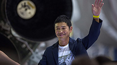 Anyone can apply: Japanese billionaire seeks 8 crew members for trip to moon on SpaceX