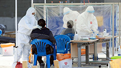 S. Korea's new virus cases stay above 400-mark for third straight day