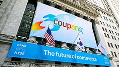 S. Korea's e-commerce giant Coupang made its trade debut on NYSE