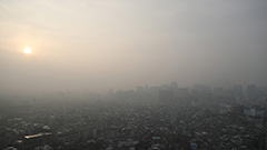 Fine dust pollution adds to health concerns amid pandemic
