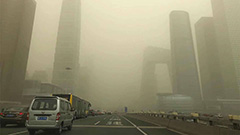 S. Korea impacted by Chinese worst sand storm