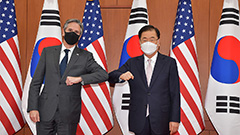 Blinken vocal about human rights issues in N. Korea, China during Seoul-Washington FM talks