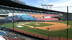 Pro baseball exhibition games in S. Korea all canceled on Saturday due to spring rain