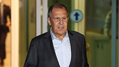 Russian FM in Seoul amid close