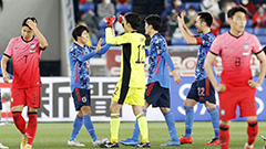 S. Korean nat'l football suffers heavy defeat against rival Japan amid strict prevention measures