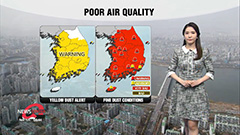 Yellow dust warning issued in