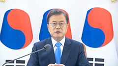 President Moon, WHO chief and 20 other leaders say global health system must be enhanced to overcome future pandemics