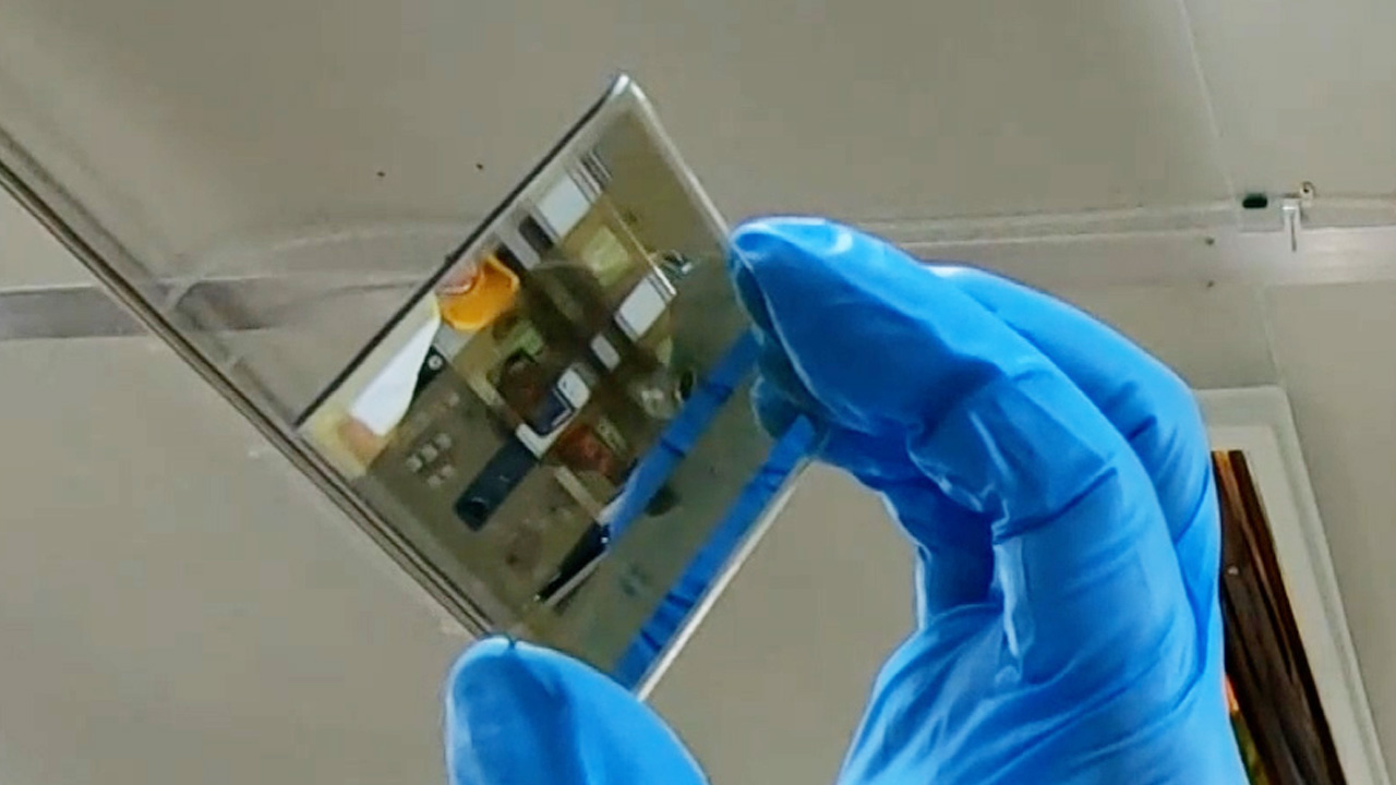 S. Korean researchers develop transparent solar cells that can be installed on windows and cars