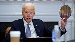 Biden pushes for more investment in U.S. semiconductor industry amid chip shortage