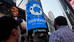 Coinbase goes public… but Jerome Powell calls cryptocurrencies 'vehicles for speculation'