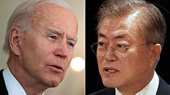 President Moon to have summit with Biden in Washington next month