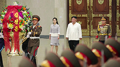 Kim Jong-un visits mausoleum on anniversary of Kim Il-sung's birth