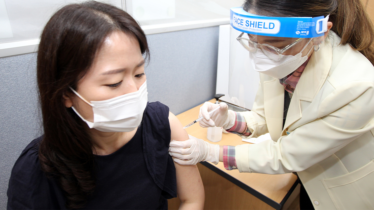 S. Korea begins administering health care workers for the disabled, seniors, veterans, flight attendants with AZ vaccine